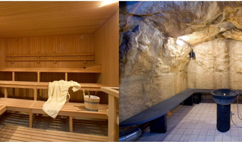Le differenze tra sauna e bagno di vapore spa a sorrento
