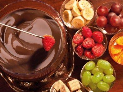 Fonduta di Cioccolato alla SPA ULYSSE di Sorrento